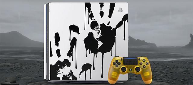 Una PS4 Pro dedicata a Death Stranding