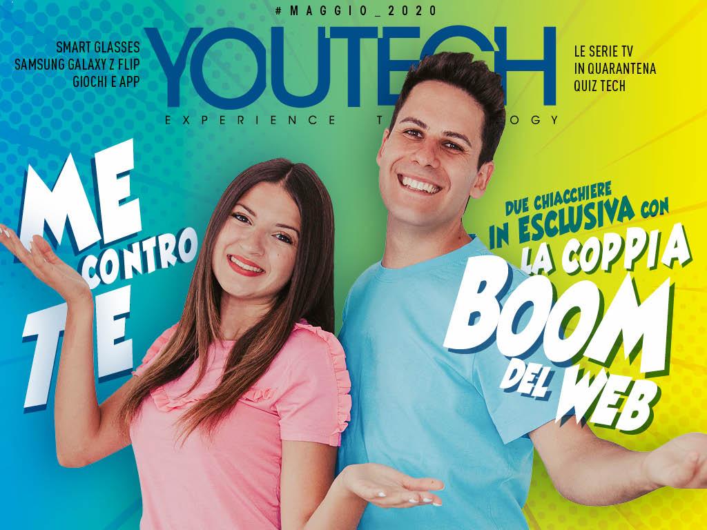 YouTech di Maggio è online, con l'intervista e il video in esclusiva dei Me Contro Te