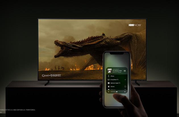 iTunes sugli Smart Tv Samsung