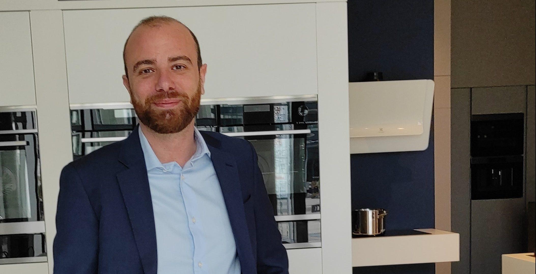 Alessandro Lombroso ai vertici Electrolux Italia