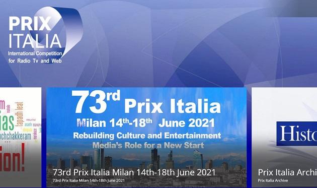 Appuntamento a Milano per il Prix Italia