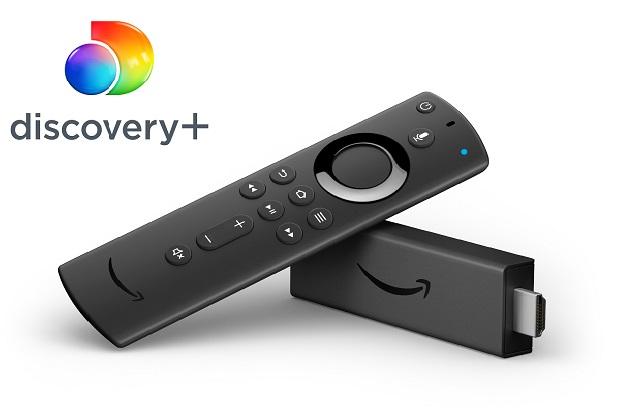 Discovery+ su Fire TV