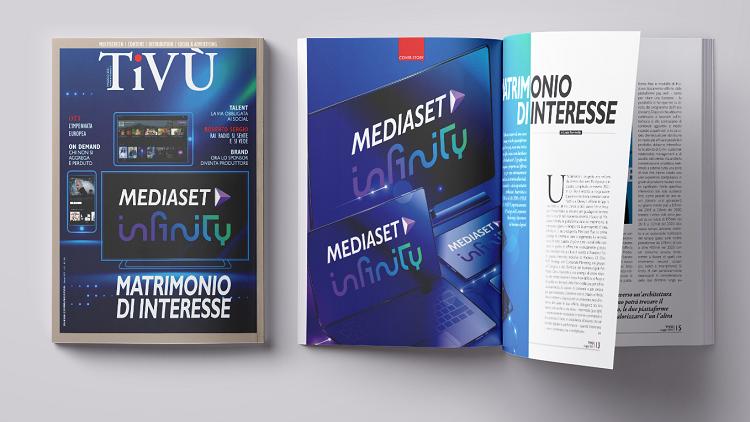 Tivù di maggio è online con Mediaset Infinity