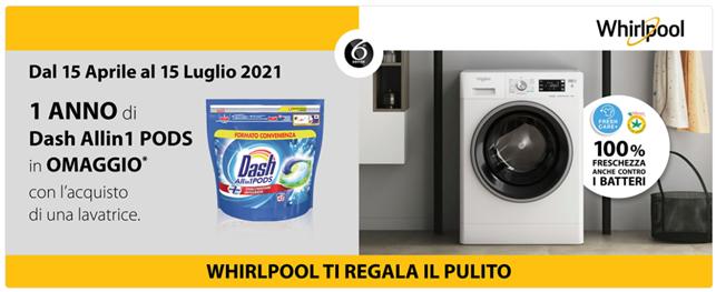 Whirlpool regala Dash Pods