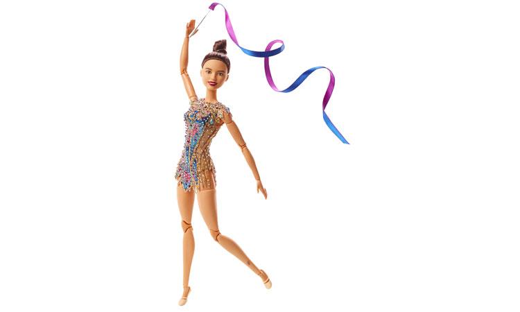 Barbie celebra la ginnasta Milena Baldassarri