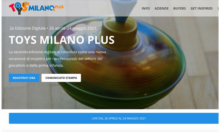 Al via Toys Milano Plus 2021