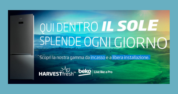 Beko racconta l'innovativa tecnologia HarvestFresh™
