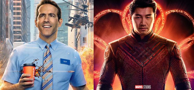 Disney, 45 giorni di esclusiva theatrical per Free Guy e Shang-Chi