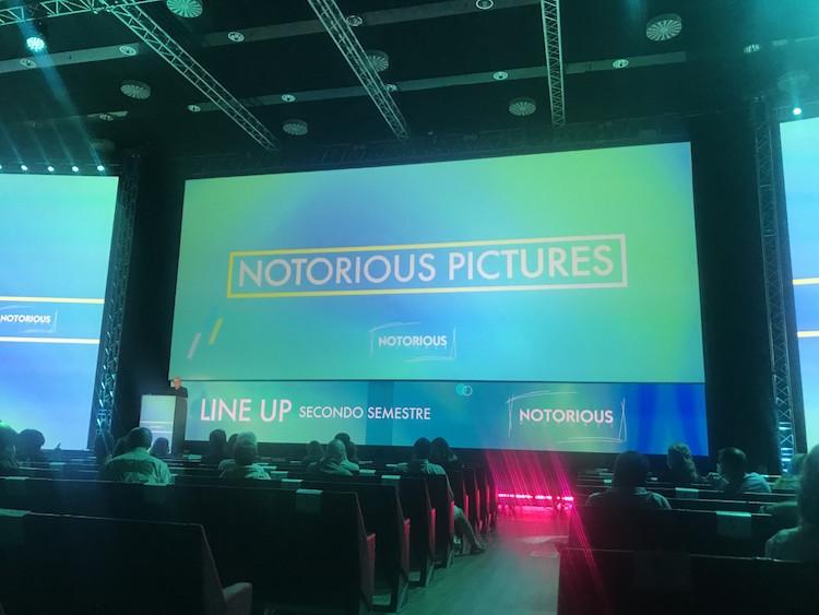 Ciné, a tutto target per Notorious