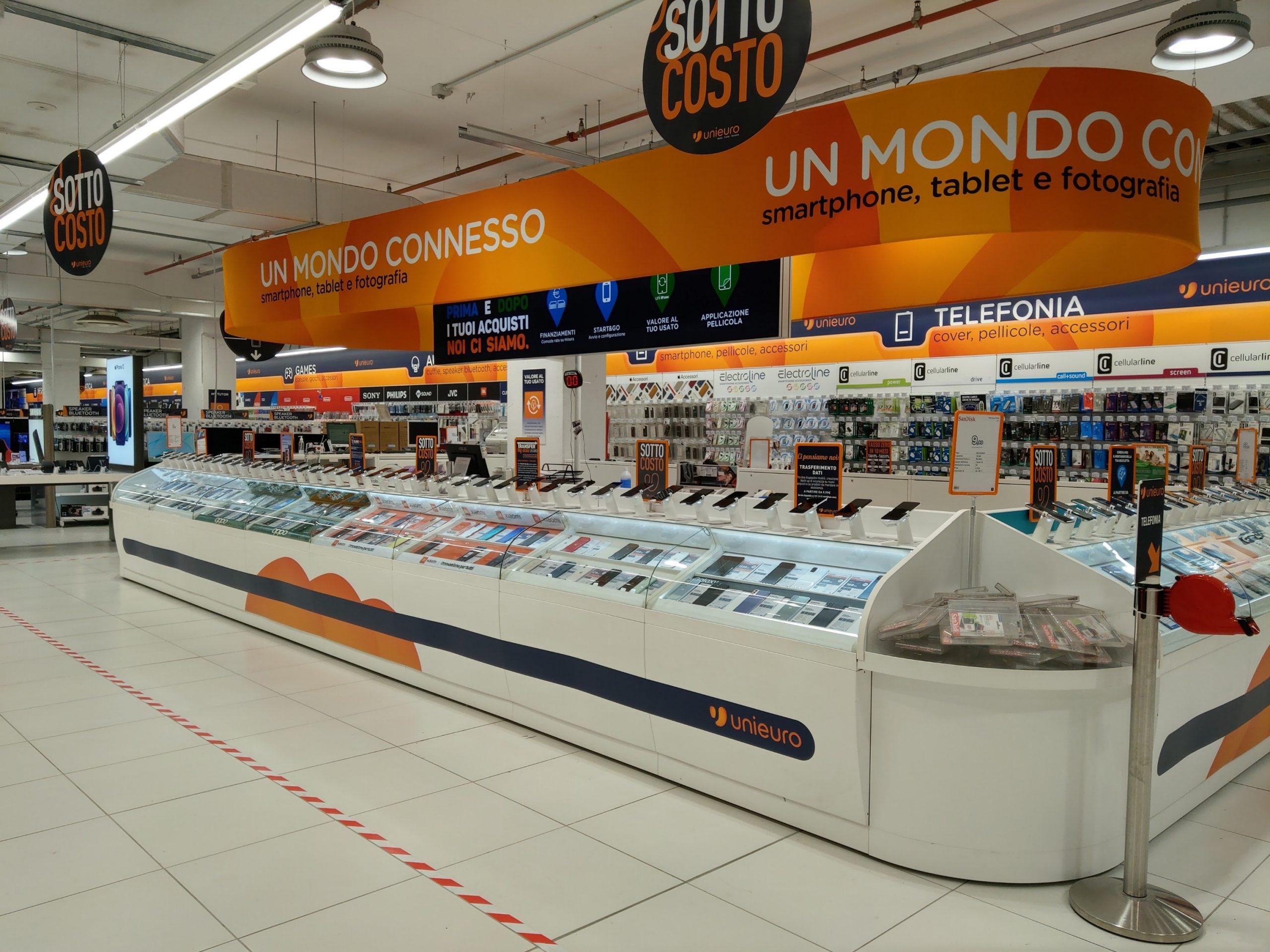 Unieuro reinaugura 12 negozi in tutta Italia