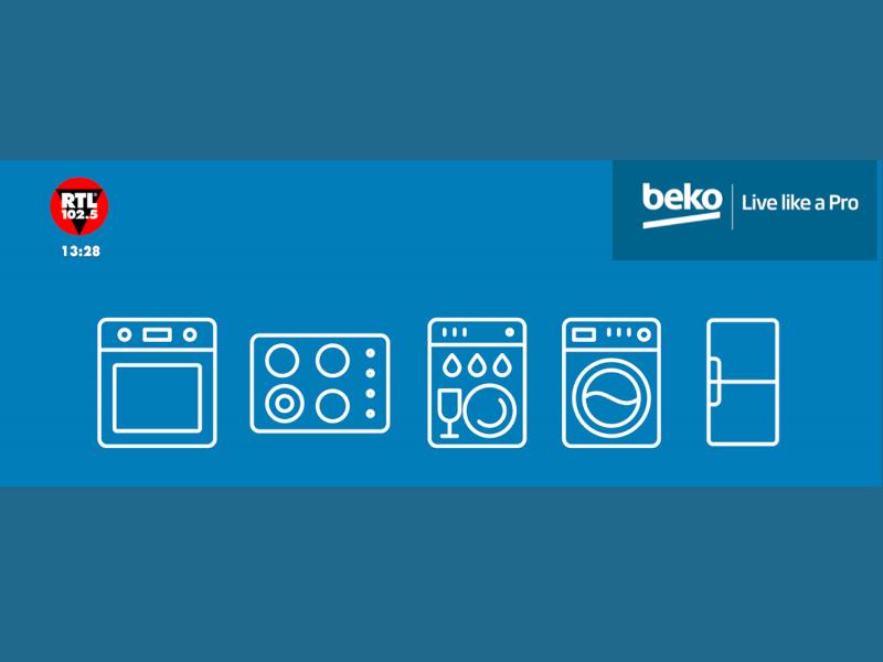 Beko: l'estate è on air su RTL 102.5!
