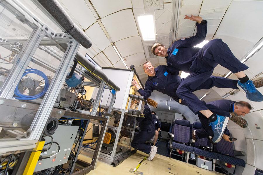 Whirpool: il frigorifero a gravità zero per lo spazio