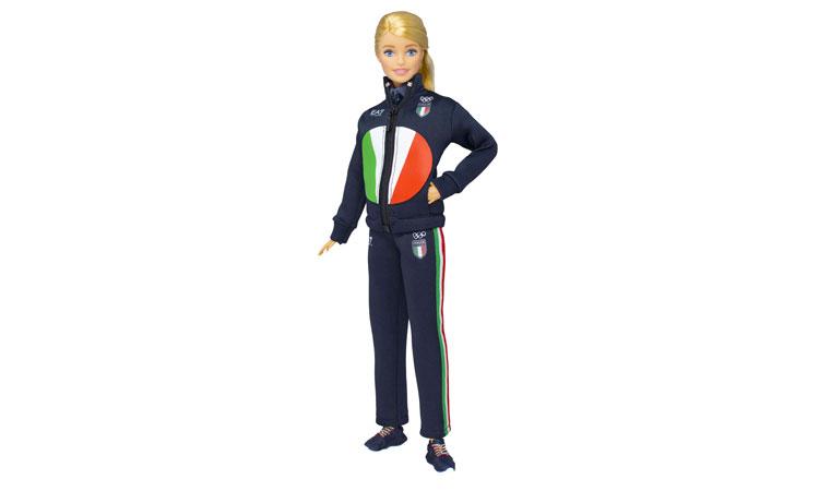 Barbie, Italia Team e EA7 Emporio Armani insieme