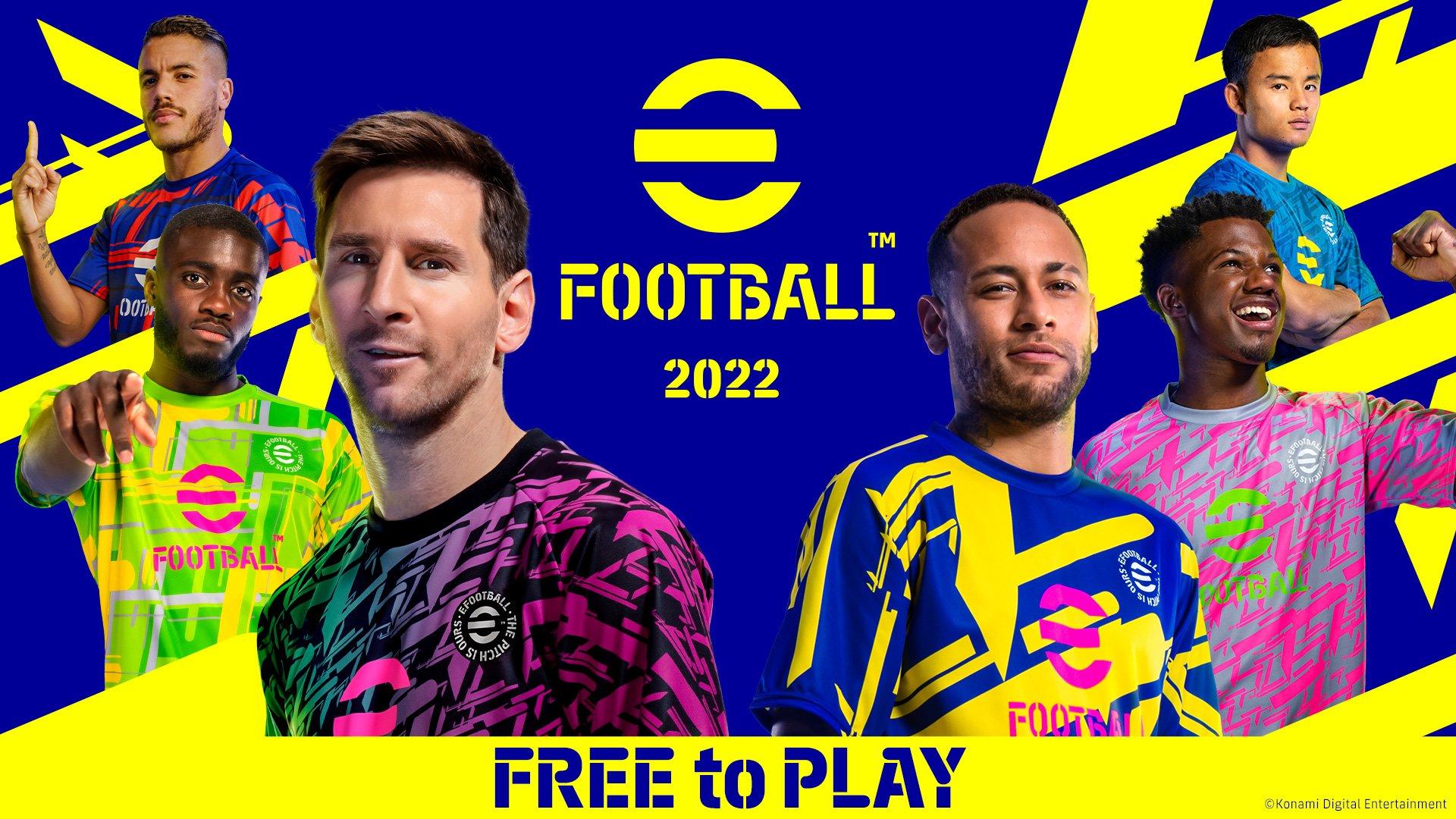Arriva eFootball 2022 ed è gratis