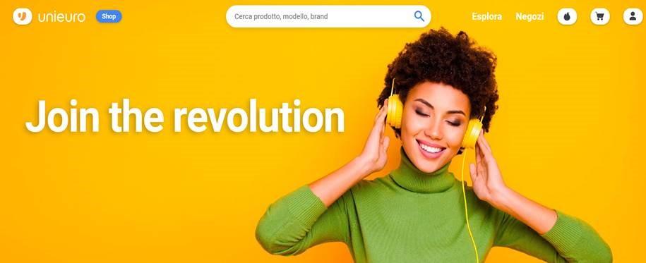 Unieuro: al via la revolution dell'e-commerce