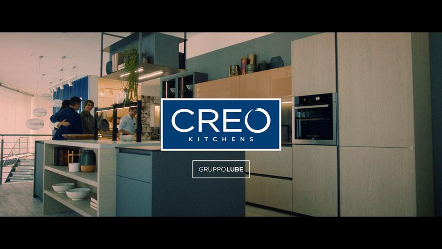 CREO Kitchens on air su reti Rai e Mediaset