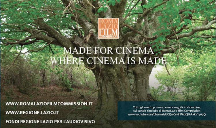 Roma Lazio Film Commission alla Festa del Cinema di Roma