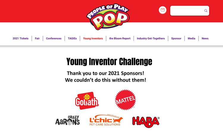 Al via Young Inventor Challenge di People Of Play